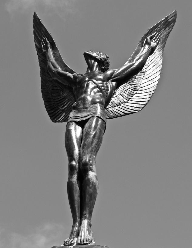 Bronze statue by pk